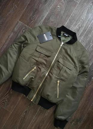 Куртка-бомбер новая с биркой р.12-14 missguided