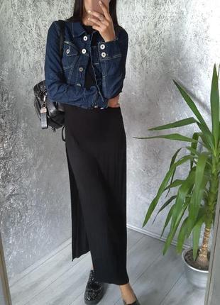 Куртка джинсовая укороченая
