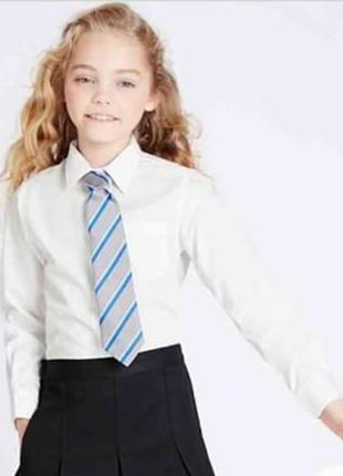Школьная рубашка marks&spenser 8-9 лет