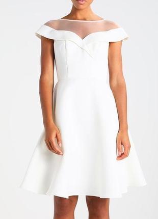 Chi chi london нарядное, белое свадебное платье