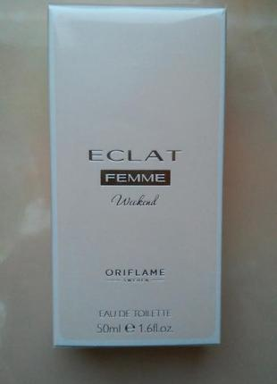 Туалетная вода eclat femme weekend орифлейм