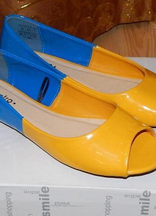 Ексклюзивні балеточки-туфлі!