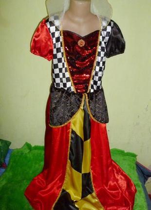 Платье королевы на 11-12 лет