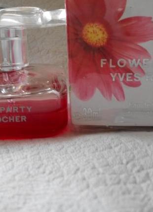 Flowerparty парфюм yves rocher