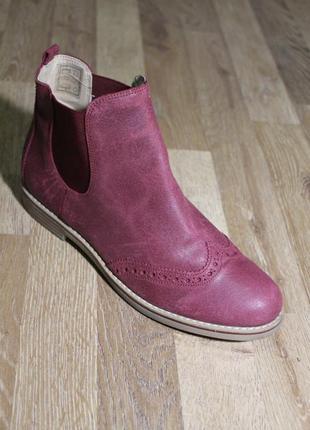 Шикарні черевички pier one сапожки ботинки слипоны челси челсі