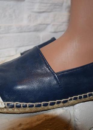 Слипоны эспадрильи р.6 на р.38-38,5 24,5 см love туфли мокасины