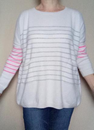 Кашемировый свитер оверсайз