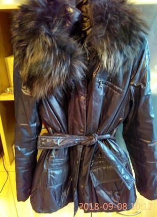 Длинная куртка на теплую зиму