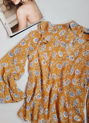 Блуза с цветочным принтом primark