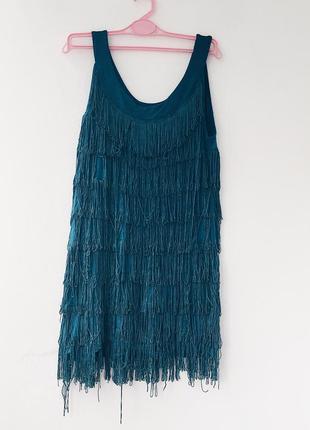 Плаття. бальне плаття. латина. платье в травичку