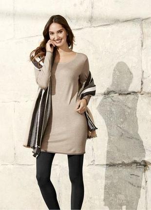 Женское вязаное платье esmara евро 44/46