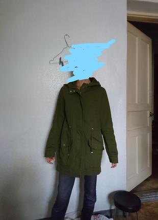 Парка, куртка с капюшоном