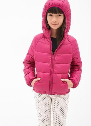 Розовая куртка forever 21 рост 155-160