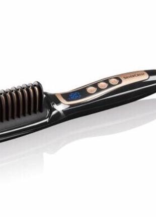Выпрямитель для волос расческа термо утюжок для волосся плойка для волос