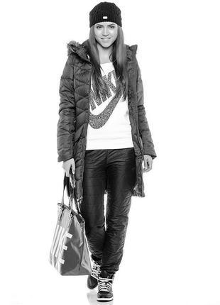 Женское пальто,куртка-пуховик оригинал nike размеры: s и m