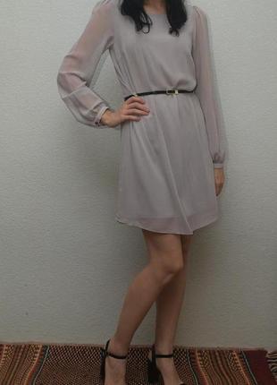 Платье с длинным рукавом atmosphere