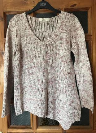 Ассиметричный свитер/джемпер от zara