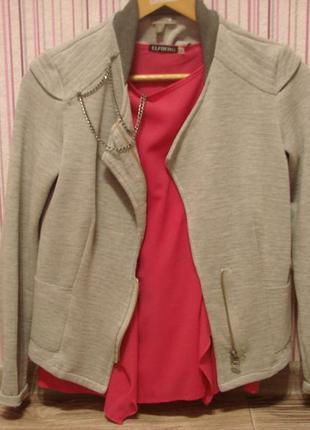Трикотажный пиджачок