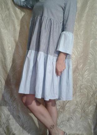 Супер платье свободного кроя