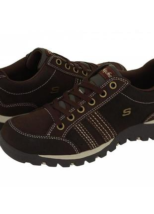 Кроссовки skechers replenish chocolate suede