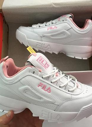 Хит продаж! кожа ! кроссовки fila disruptor2 36-40 размеры Fila ... f4f27478035