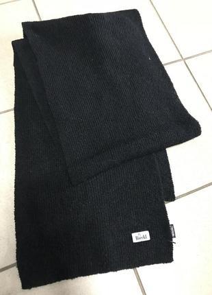 Шарф шерстяной roeckl дорогой бренд размер 30/180 см