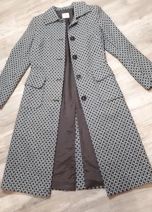Длиное шерстяное пальто миди oasis