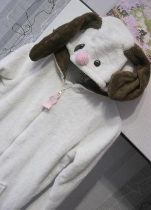 ... Креативная собака щенок пижама футужама слип кигуруми костюм хс-с до  166 см3 ... a0c32329af080