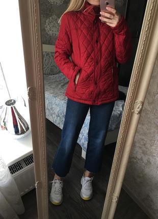 Стеганая куртка на синтепон