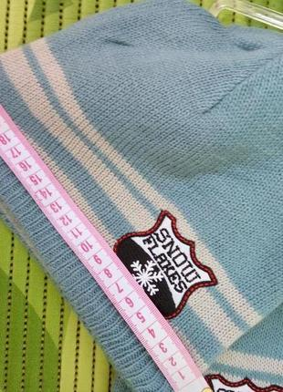 Комплект шарф и шапочка на флисе4 фото