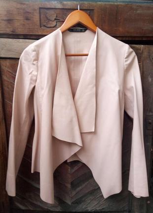 Куртка эко-кожа zara