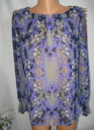 Красивая блуза с принтом dorothy perkins