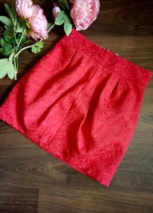 Интересная нарядная юбка мини