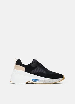 Модные городские кроссовки zara