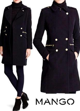 Крутое стильное пальто от mango