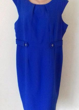 Элегантное  осеннее новое платье большого размера