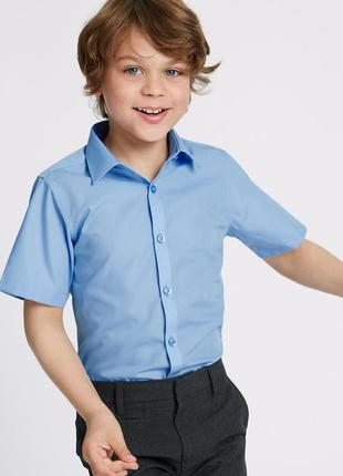 George новая школьная рубашка на 6-7 лет