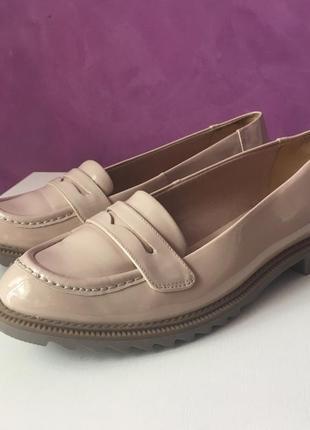 Туфлі лофери clark's натуральна шкіра розмір 41 25,5см