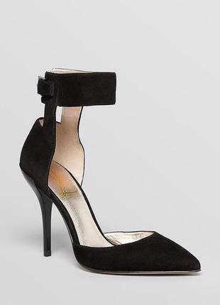 Joan & david оригинал туфли лодочки на шпильке замшевые бренд из сша2 фото