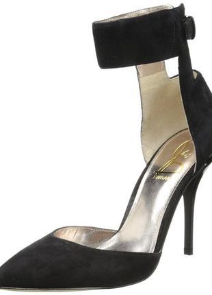 Joan & david оригинал туфли лодочки на шпильке замшевые бренд из сша3 фото