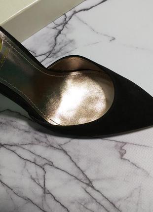 Joan & david оригинал туфли лодочки на шпильке замшевые бренд из сша5 фото