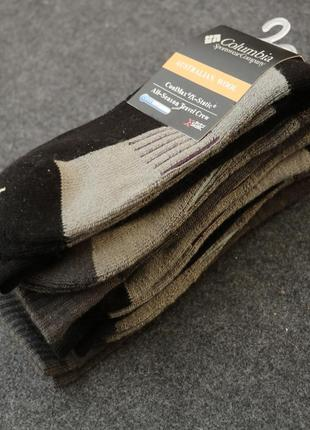 Термоноски columbia шерсть мериноса wool crew socks для женщин и подростков