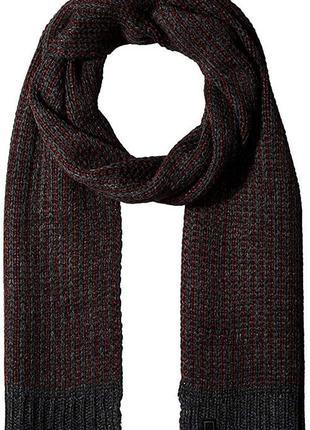 Шарф мужской calvin klein chunky jaquard scarf, оригинал
