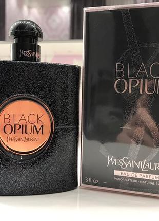 Оригинал black opium yves saint laurent 90 мл. парфюмированная вода