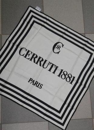 Шёлковая косынка cerruti