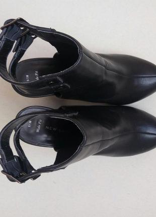 Трендовые ботильоны,ботинки,полусапожки на среднем каблуке3