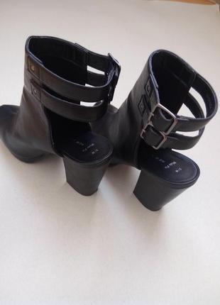 Трендовые ботильоны,ботинки,полусапожки на среднем каблуке4