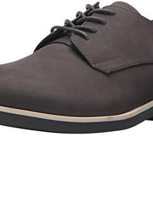 Туфли calvin klein men's faustino. размер 9us (наш 42). цвет серый. оригинал