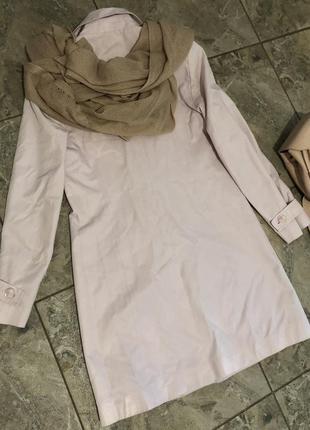 Пальто класичне ніжний розовий колір berkertex