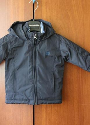 Куртка демисезон на флисе timberland 12 месяцев 74 см рост (оригинал)